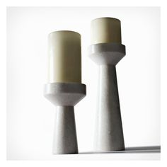 Tom Dixon - Stone candle holders
