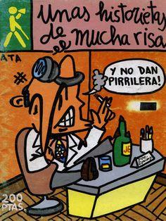Libro Comic Unas historietas de mucha risa, ATA