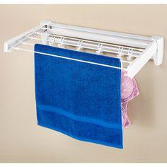 Whitmor Retractable Drying Rack. Walmart