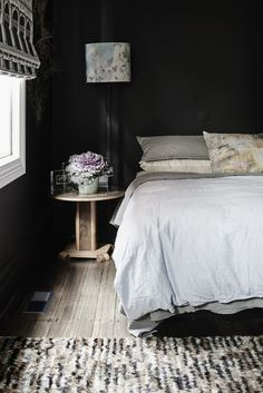 Goth Glamour: 10 Stylish Black Bedrooms | Apartment Therapy