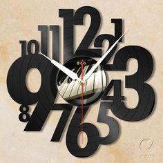 vinyl wall clock  letter no3 by Anantalo on Etsy, ฿1100.00