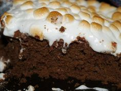 Gingerbread S'mores Cake--Rachel Ray
