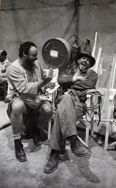 behind the scenes of Raiders of the Lost Ark 1980