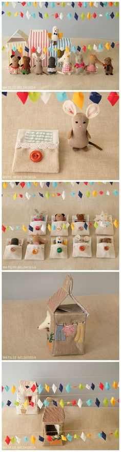Adorable softies toys ~ Sleepover party ~ Matilde Beldroega by Rita Pinheiro