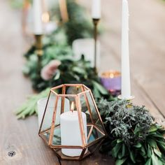 Candlelight and pretty lanterns make me smile. These @anthropologie lanterns were the perfect touch to this lovely table. #lanterns #anthropologie #light photo by @meganrobinsonphoto by lesliedawnevents