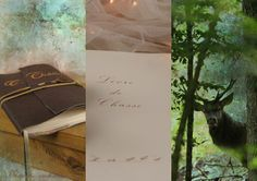 Carnet en cuir, intérieur tableaux de chasse. http://www.moments-enchantes.com/chasse-18-1.html