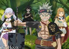 Black Clover-Noelle And Mimosa Anime Style by OneHoox on DeviantArt Watch Black Clover, Black Clover Manga, Fanart Manga, Manga Anime, Anime Art, Deidara Wallpaper, Clover Tattoos, Time Skip, Anime Episodes