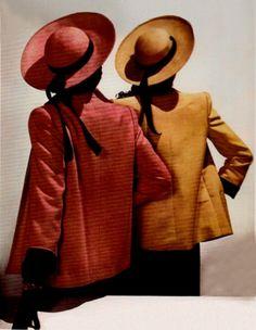 Photo by John Rawlings, Vogue, 1944. www.fashion.net/