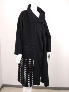 Manteau destructuré Pulls, Cold Shoulder Dress, Dresses, Fashion, Mantle, Wool, Outfit, Vestidos, Moda