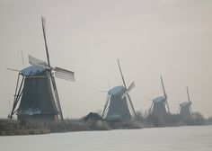 Forever, c'est pour les rêveurs...  Kinderdijk -the netherlands/Holland