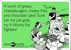 I love my Fat Fighters! Guilt free and loving it!! http://amyobsnuk.myitworks.com