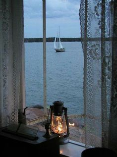 Ett hus vid havet