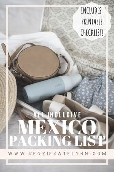 What to pack for an All Inclusive Trip All Inclusive Mexico, Mexico Resorts, All Inclusive Vacations, Mexico Vacation, Mexico Travel, Cancun Resorts, Dream Vacations, Vacation Packing, Packing List For Travel