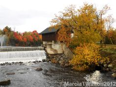 Lake Placid Adirondacks Mill Pond Dam by AdirondackMtnImages, $30.00