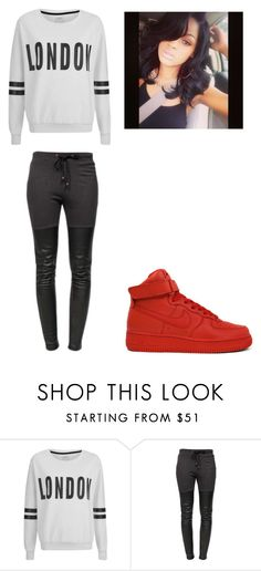 """""""Random"""" by lexiswagg on Polyvore featuring ONLY, NIKE and Ragdoll"""