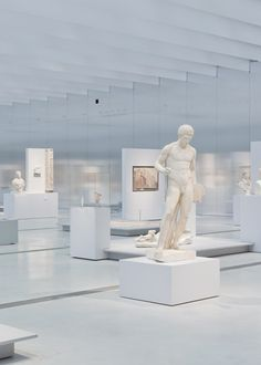 The Louvre Lens, a new outpost of the Musée du Louvre by SANAA.