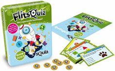 Squla flitsquiz groep 1 2 3 - Kaartspel