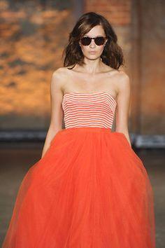 Orange chic