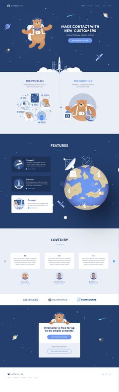 Intereseller.io – Ui design concept, visual identity and illustration by Oli Lisher.