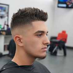 Facial Hair Styles For Men With Little Hair 2014 | Men Short Hairstyle |  Fades | Pinterest | Easy Hair Cuts, Cut Hairstyles And Crew Cuts