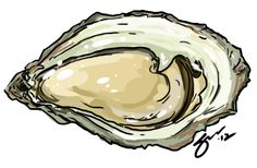 Oyster inspiration.