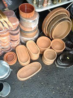 terracotta pots for kavurma. #technique