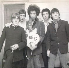 The Who with Jimmy Hendrix