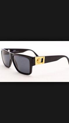 sunglasses versace Vintage Versace Sunglasses, Stylish Sunglasses, Black  Sunglasses, Mens Sunglasses, Mens 8ac4f41ec0