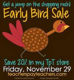 LMN Tree: Early Bird Sale: Get Ready, Get Set, Shop!