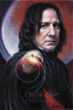 Snape: Defense Against the Dark Arts by Cynthia-Blair.deviantart.com on @deviantART