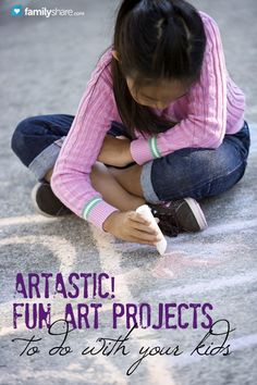 FamilyShare.com l Artastic! Fun art projects to do with your kids