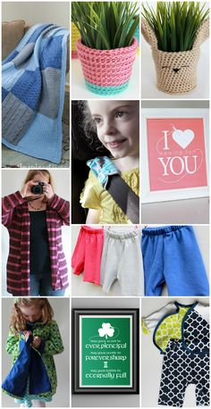Top Ten Posts in 2015, sewing and crochet from The Inspired Wren
