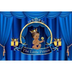 The Little Prince Blue Backdrop For Baby Boy Birthday Party Photography 1st Birthday Banners, Birthday Backdrop, Baby Boy Birthday, Baby Shower Photography, Party Photography, Photography Backdrops, Prom Backdrops, Muslin Backdrops, Custom Backdrops