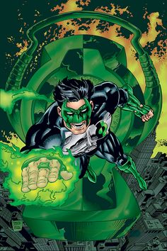 Green Lantern by Daryl Banks