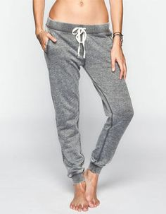 FULL TILT Burnout French Terry Womens Jogger Pants