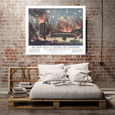 The grand fireworks and illuminations: opening by RetroPrintmaker