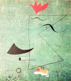 Joan Miro - Le gentleman - 1924