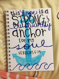 Painted canvas with quote or bible verse by HansCanvs on Etsy