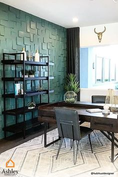 Home Office Space, Home Office Decor, Small Office, Home Office Furniture, Office Desk, Design Studio, House Design, Modern Office Design, Office Designs