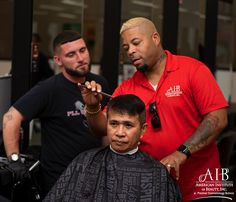 Carlton & Richard are learning together to get it right.  Come learn with our highly skilled professionals at the American Institute of Beauty. Click the link in our bio for more information. Barber School, Love Hair, Student Work, Spa, Journey, Passion, Learning, American, Link