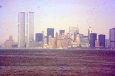 35mm Slide World Trade Center 1978 New York City Skyline