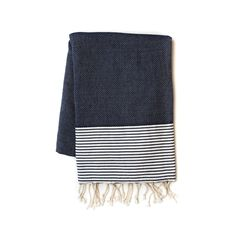 Handloom made natural fiber towel. A perfect companion for beach, bath, gym, sauna or any sports activities.