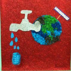 Preschool and Homeschool Energy Resources, Save Water, Water Crafts, Craft Work, Elsa, Homeschool, Craft Ideas, Symbols, Activities