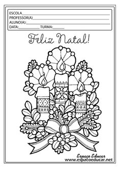 Christmas Coloring Book: Christmas Candles Coloring Page Coloring Pages For Grown Ups, Adult Coloring Pages, Coloring Pages For Kids, Coloring Books, Colouring, Christmas Tree Coloring Page, Twelve Days Of Christmas, Free Christmas Printables, Free Printable Coloring Pages