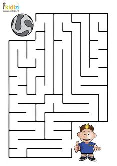 Abc Activities, Space Activities, First Grade Math Worksheets, Kindergarten Worksheets, Spot The Difference Kids, Mazes For Kids Printable, Visual Perception Activities, Paper Doll Template, Maze Worksheet