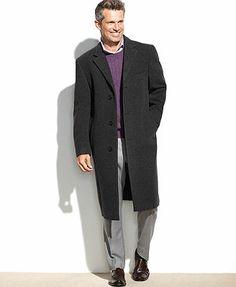 Regular and Big /& Tall MODERM Mens Justin Cashmere Blend Car Coat