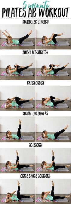 Whittle your waistline with this 5 Minute Pilates Ab Routine!Whittle your waistline with this 5 Minute Pilates Ab Routine!p 5 minute Abs Pilates Training, Pilates Workout Routine, Pilates Abs, Ab Routine, Butt Workout, 5 Minute Abs Workout, Cardio Yoga, Cardio Hiit, Interval Training