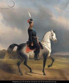 Equestrian Portrait Of Alexander II - Nikolai Egorovich Sverchkov