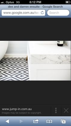 Amazing combo! Benches and feature tile