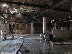 Abandoned Detroit shopping mall